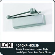 LCN 4040XP-HCUSH - Super Smoothee-Heavy Duty Hold Open Cush Arm Door Closer