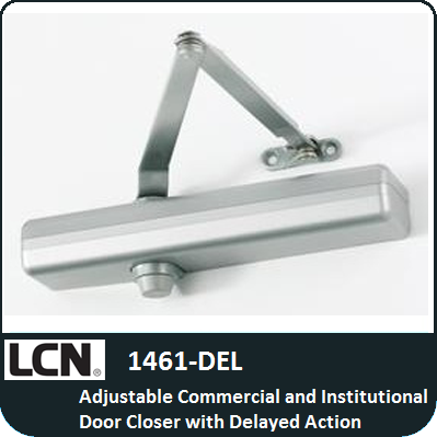 Lcn 1461 del commercial and institutional door closer for 1461 lcn door closer