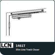 LCN 1461T - Slim LineTrack Closer