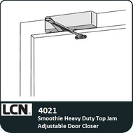 LCN 4021 - Smoothie Heavy Duty Top Jam Adjustable Door Closer