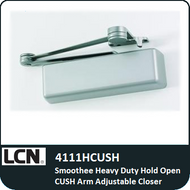 LCN 4111HCUSH - Smoothee Heavy Duty Hold Open CUSH Arm Adjustable Closer