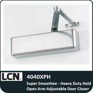 LCN 4040XPH - Super Smoothee-Heavy Duty Hold Open Arm Adjustable Door Closer
