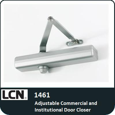 Lcn 1461 commercial and institutional door closer for 1461 lcn door closer