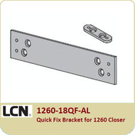 LCN 1260-18QF-AL Quick Fix Bracket for 1260 Closer