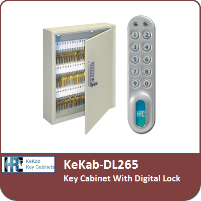 Kekab Dl265 Key Cabinet With A Digital Lock By Hpc
