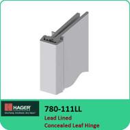 Roton 780-111LL - Lead Lined Concealed Leaf Hinge