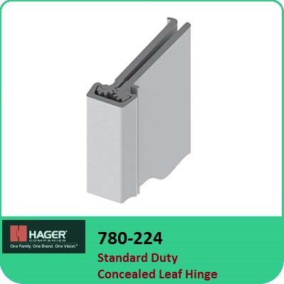 Standard Duty Hinges   Roton 780-224 Concealed Leaf Hinges