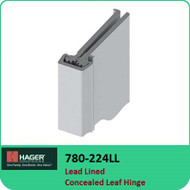 Roton 780-224LL - Lead Lined Concealed Leaf Hinge