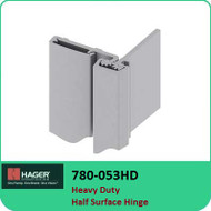 Roton 780-053HD - Heavy Duty Half Surface Hinge