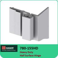 Roton 780-155HD - Heavy Duty Half Surface Hinge