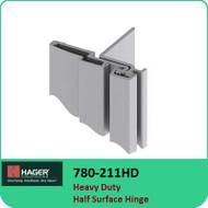 Roton 780-211HD - Heavy Duty Half Surface Hinge