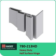 Roton 780-213HD - Heavy Duty Half Surface Hinge
