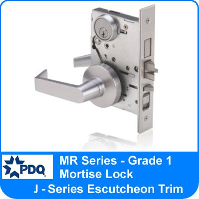 Mr Series Mortise Locks Pdq Grade 1 Escutcheon Trim