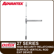 Advantex 27 Series High Security Surface Vertical Rod Exit Device