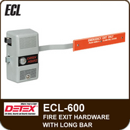 """ECL-600 - Fire Exit Hardware with Long Bar, 36"""" to 48"""" Door Width"""