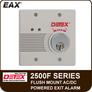 EAX-2500F - Flush Mount AC/DC Powered Wall Mount Exit Alarm