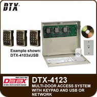 DTX-4123 - Access Control System for three doors
