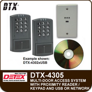 DTX-4305 - Access Control System for five doors