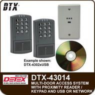DTX-43014 - Access Control System for fourteen doors