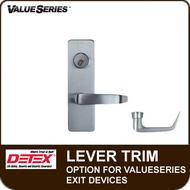 Lever Trim Option for Detex ValueSeries Exit Devices
