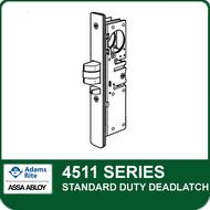 Adams Rite 4511 - Standard Duty Deadlatch, Radius faceplate