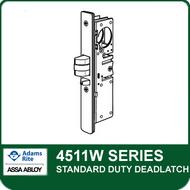 Adams Rite 4511W - Standard Duty Deadlatch, Radius faceplate with Weatherstrip