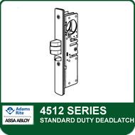 Adams Rite 4512 - Standard Duty Deadlatch , Bevel Faceplate
