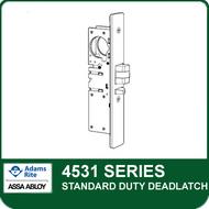 Adams Rite 4531 - Standard Duty Deadlatch, Radius Faceplate