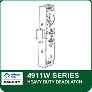 Adams Rite 4911W - Heavy Duty Deadlatch, Radius with Weatherseal Faceplate