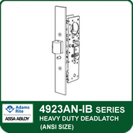 Adams Rite 4923AN-IB - Heavy Duty Deadlatch (ANSI Size), Without Faceplate or Strike