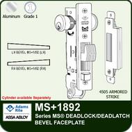 Adams Rite Ms1852s Series Ms 174 Deadlock Bevel Faceplate