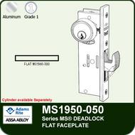 Adams Rite MS1950-050 - Series MS® Deadlock - Flat Faceplate