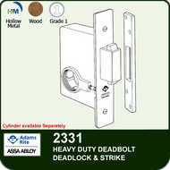 Adams Rite 2331 - Heavy Duty Deadbolt (Deadlock and strike)