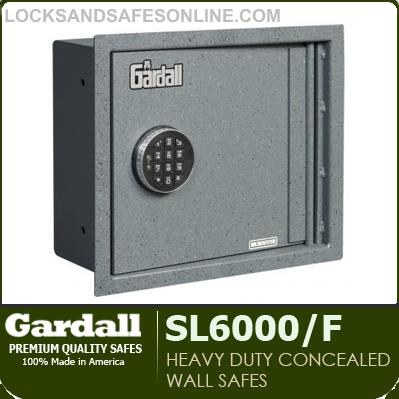 Heavy Duty Concealed Wall Safes Gardall Sl6000 F