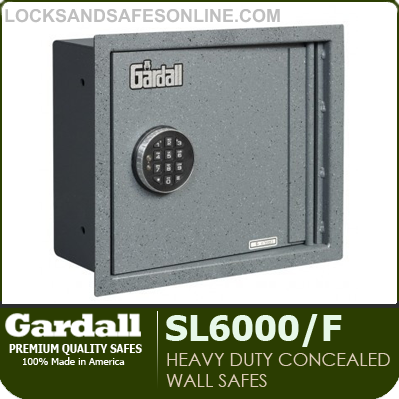 heavy duty concealed wall safes gardall sl6000f