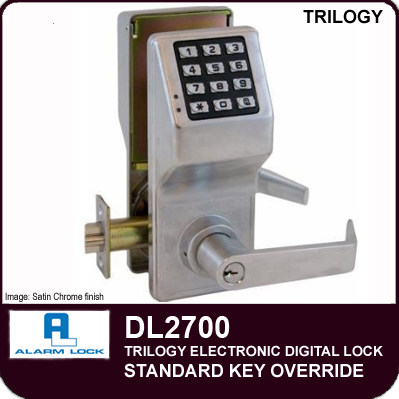Trilogy Dl2700 Series Key Override Locks By Alarm Lock