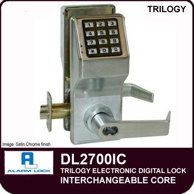 Alarm Lock Trilogy Dl2700ic Locks W Interchangeable Core
