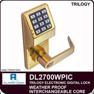 Alarm Lock Trilogy DL2700WPIC - Weatherproof Interchangeable Core