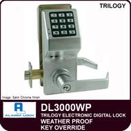 Alarm Lock Trilogy DL3000WP - Weather Proof Key Override
