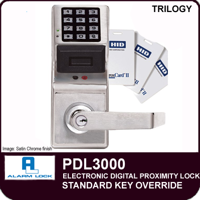 Alarm Lock Trilogy Pdl3000 Digital Proximity Locks