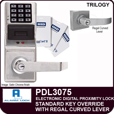 Alarm Lock Trilogy Pdl3075 Electronic Proximity Locks