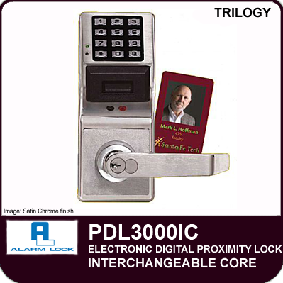 Alarm Lock Trilogy Pdl3000ic Digital Proximity Locks