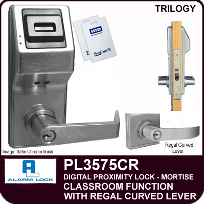 Alarm Lock Trilogy Pl3575cr Electronic Proximity Mortise