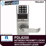 Alarm Lock Trilogy PDL6200 - NETWORX PROXMITY DIGITAL LOCKS - Standard Key Override with Door Position Switch