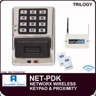 Alarm Lock Trilogy NET-PDK - NETWORX WIRELESS KEYPAD - Digital & Prox wireless keypad only