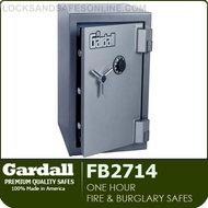One Hour Fire and Burglary Safes | Gardall FB2714