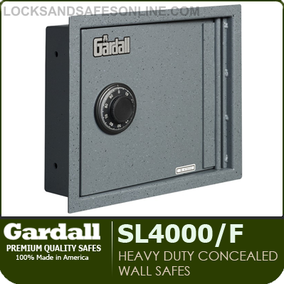 heavy duty concealed wall safes gardall sl4000f - Wall Safes