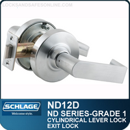 Schlage ND12D - Heavy Duty Exit Lever Lock