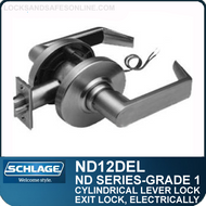 Schlage ND12DEL - Heavy Duty Electrically Locked (Fail Safe) Lever Lock