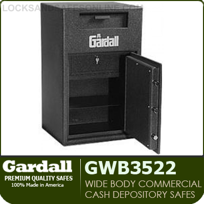 Heavy Duty Commercial Depository Safes Gardall Gwb3522